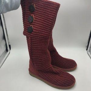 Fantastic Like NEW Ugg sweater boots!